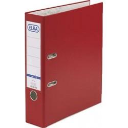 Ordner Elba Rado 10456 A4 Rückenschild einsteckbar rot 8cm