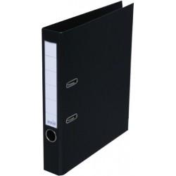 Ordner Premium PP-Color PP-kaschiert A4 50mm mit Einsteckrückenschild schwarz