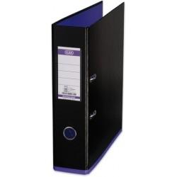 Ordner Elba 10489 myColour PP mit Griffloch A4 80mm schwarz / lila violett