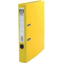 Ordner Elba Rado Brillant 10414 A4 Rückenschild einsteckbar gelb 5cm