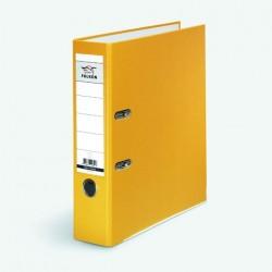 Ordner Falken PP-Color PP-kaschiert A4 80mm mit Einsteckrückenschild gelb