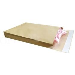 Seitenfaltentaschen Officebiene® B4 250x353x40 mm Braun hk (1000 Stück) SONDERANGEBOT