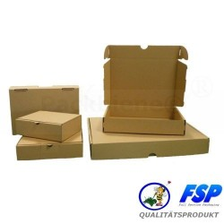 Maxibriefkartons Maxibrief 350x250x50 MB1 BRAUN (200 Stk.)
