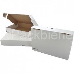 Maxibriefkartons Maxibrief 350x250x50 MB1W WEISS (1000 Stk.)