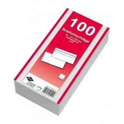Briefumschläge Kuverts DIN Lang KEIN FENSTER sk (100 St.)