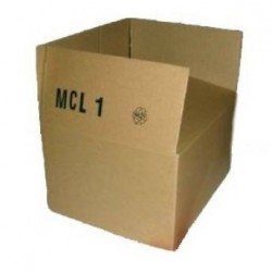 Versandkartons 250x200x140mm Einwellig MCL1 (1000 STÜCK)