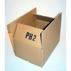 Versandkartons 260x170x120mm Einwellig PH2 (25 STÜCK)