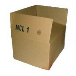 Versandkartons 250x200x140mm Einwellig MCL1 (50 Stück)