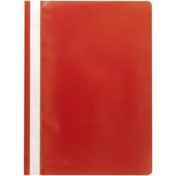 SCHNELLHEFTER OFFICEBIENE® PP-Folie DIN A4 Rot (1 Stück)