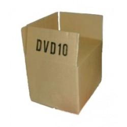 KARTONS DVD-KARTON 190x150x140mm Einwellig DVD10 (50 Stück)