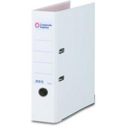 Ordner Color PP Einsteckrückenschild A4 80mm breit weiß