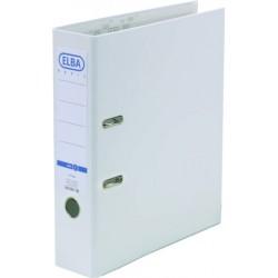 Ordner Elba A4 Kunststoff Einsteckrückenschild weiss 8cm breit