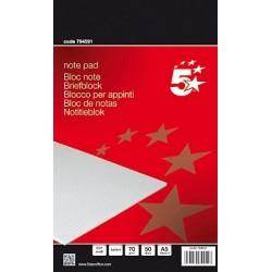 Briefblock DIN A5 70g/m² kariert 50 holzfrei weiß (1 Stück)