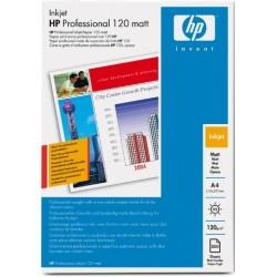 Fotopapier Inkjet-Papier HP A4 120g/m² Professional matt 200 Bl.
