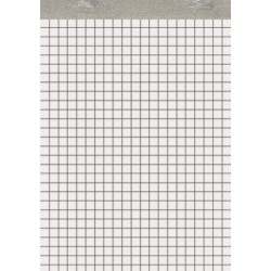 Notizblock A6 50 Blatt RC UWS-Papier kariert (1 Stück)