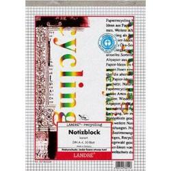 Briefblock Notizblock A4 50 Bl. UWS-Papier kariert (1 Stück)