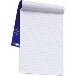Briefblock A4 70g/m² hf weiß liniert 50Bl. Deckblatt geleimt