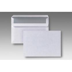 Briefumschlag C6 weiß ohne Fenster SK  (VE=1000 STÜCK)