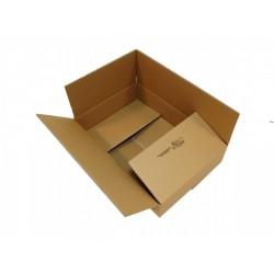 Kartons, Faltkarton, 600x400x120 zweiwellig WK6C (25 Stück)