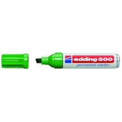 Permanentmarker Edding 500 nachfüllbar grün 2-7mm / 1 St.