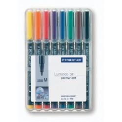Projektionsschreiber Lumocolor 317 permanent M 8er-Etui