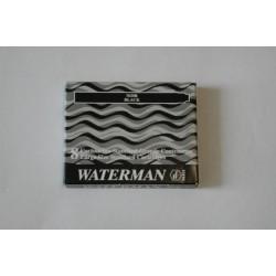 Füllhalterpatrone Patronen Waterman Großraum schwarz Pa=8St