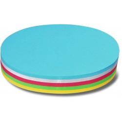 Moderationskarten oval 11x19cm 130 g/m² sortiert Pckg. á 250St.
