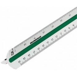 Dreikantmaßstab 150 Berufsschule 2 Kunststoff Länge 30 cm RUMOLD