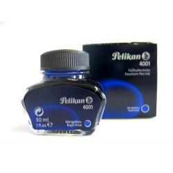 Tinte Pelikan 4001 Glas für Füllhalter königsblau 30ml