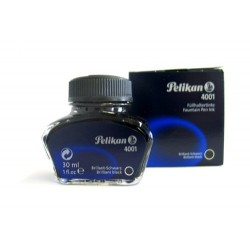 Tinte Pelikan 4001 Glas für Füllhalter brillant-schwarz 30ml