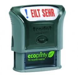 Stempel ecoprinty Eilt sehr 47 x 18 mm selbstfärbend / 1 Stück