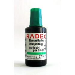 Stempelfarbe ohne Oel 27 ml Verstreichflasche grün