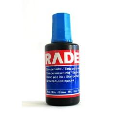 Stempelfarbe ohne Oel 25 ml Verstreichflasche blau