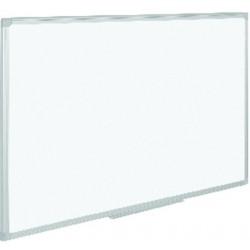 Schreibtafel 60x45cm Whiteboard magnetisch Alurahmen lackiert silber grau