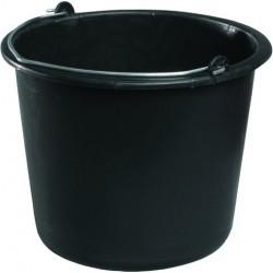 Eimer Kunststoff 12 Liter stabil für den Bau schwarz