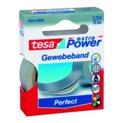 "Gewebeband Tesa ""Extra Power"" 2,75m x 19mm grau (1 Rolle)"