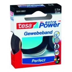 "Gewebeband Tesa ""Extra Power"" 2,75m x 19mm schwarz (1 Rolle)"