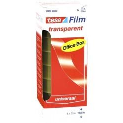 Klebefilm Tesafilm Tesa Office 12 mm x 33 m (12 Rollen)