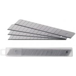 Ersatzklinge für Cutter Cuttermesser Metall 9mm Pckg. á 10 St. Klingen