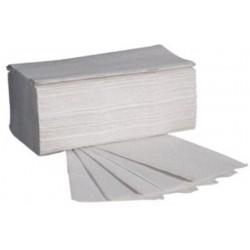Handtuch Format 25,0x23,0cm 1lg. Krepp grau ZZ-Falz VE=5000St.