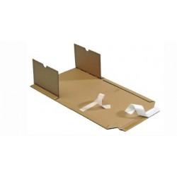 Karton für LP Langspielplatten 320x320x10-80mm variable Höhe hk (25 Stück)