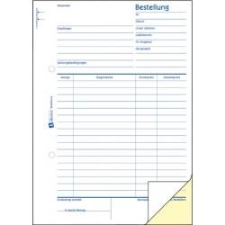 Bestellscheinbuch A5 Zweckform 1406 m. Blaupause 2x50 Blatt