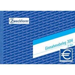 Einnahmebeleg Zweckform 304 DIN A6 quer 50 Blatt / 1 St.