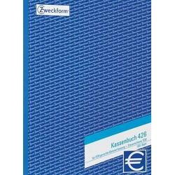 Kassenbuch Zweckform 426 A4 hoch 100 Blatt EDV-gerechte Erf.