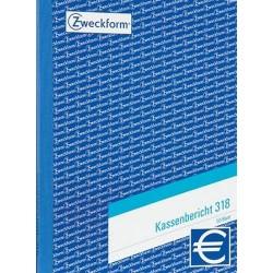 Kassenberichtsblock Zweckform 318 A5 50Bl m. Bestandsrechnung