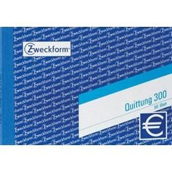 Quittungsblock Zweckform 300 DIN A6 quer 50 Blatt / 1 St.