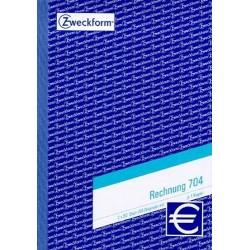 Rechnungsblock A5 2x50 Blatt Zweckform 704 (1 Stück)