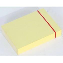 Karteikarten blanko DIN A7 Karton 205 g/m² gelb (Pckg. á 100 Stück)