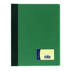 Schnellhefter PVC-Folie mit Innentasche DIN A4 grün /  1 Stück
