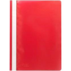 Schnellhefter Sichthefter PP-Folie A4 rot SONDERANGEBOT / 1 Stück